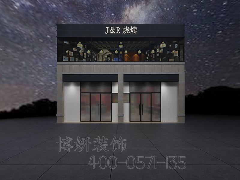 杭州烧烤店装修设计案例效果图