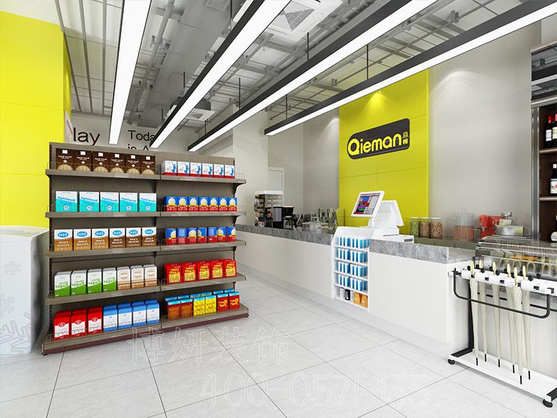 杭州超市装修设计-案例效果图