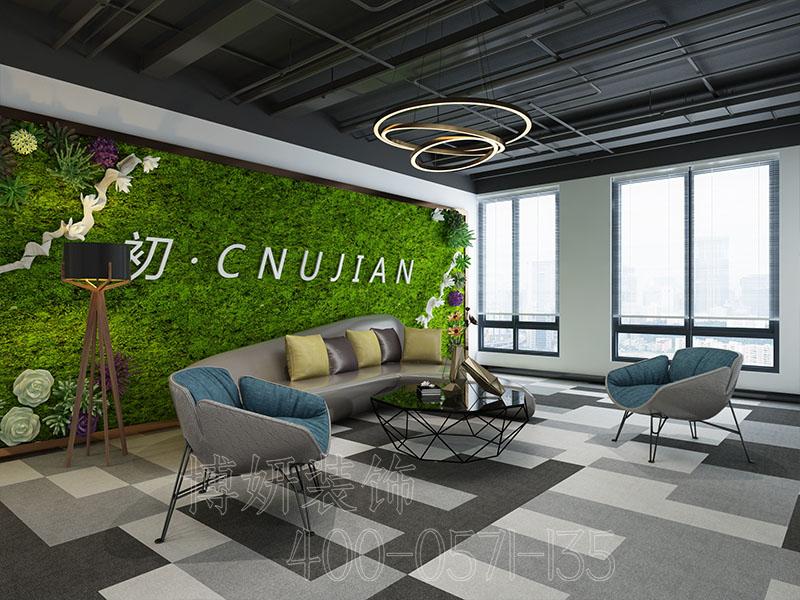 杭州新简约风格办公室装修案例-设计图