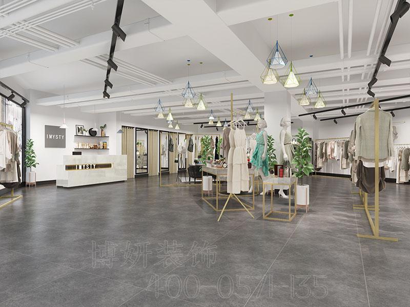 杭州女装店装修设计 -装修效果图