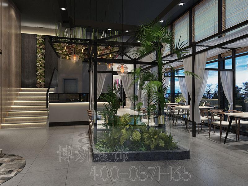 杭州主题餐厅装修设计案例效果图