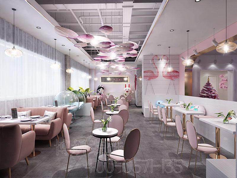 杭州网红烘培店装修设计 - 装修设计案例