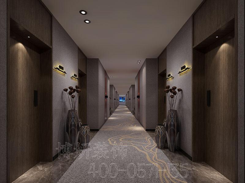 杭州北欧潮流精品酒店装修设计案例-效果图