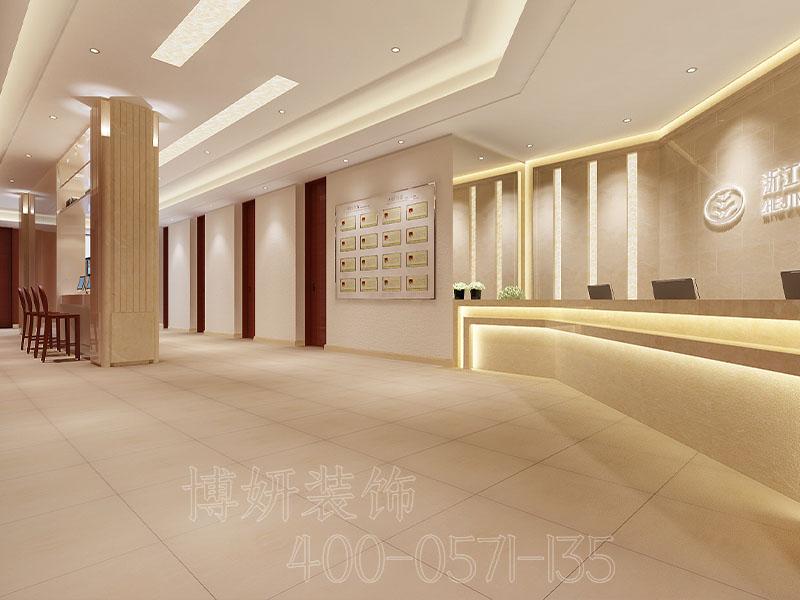 杭州口腔诊所设计装修案例-效果图