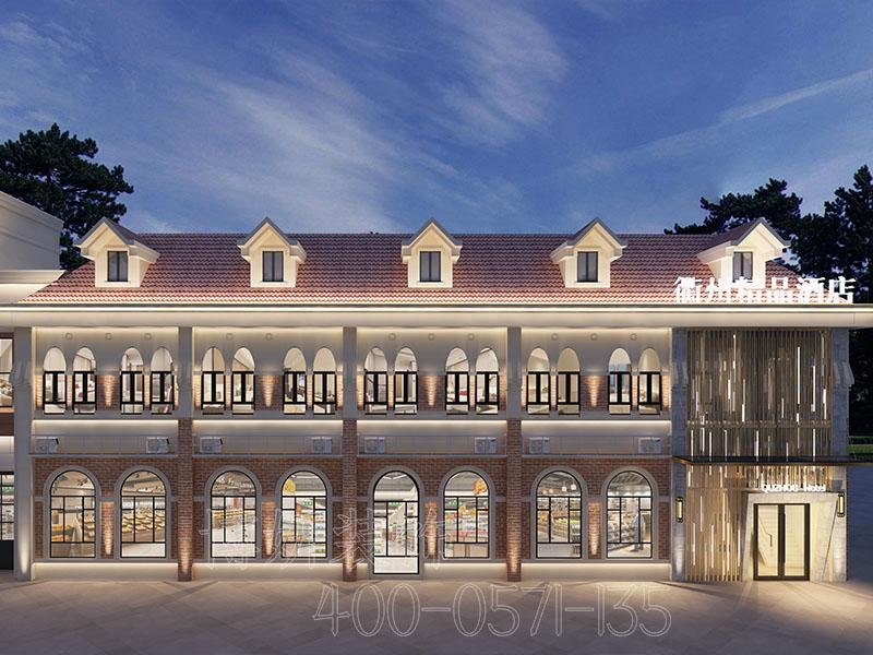 杭州精品酒店排列三走势设计案例-效果图