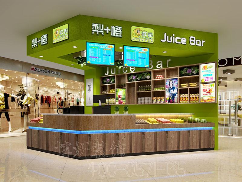 杭州商场果汁店装修设计 - 装修效果图