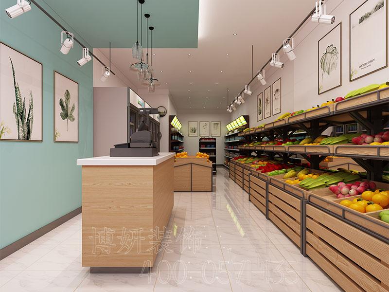 杭州水果超市装修设计 - 装修效果图