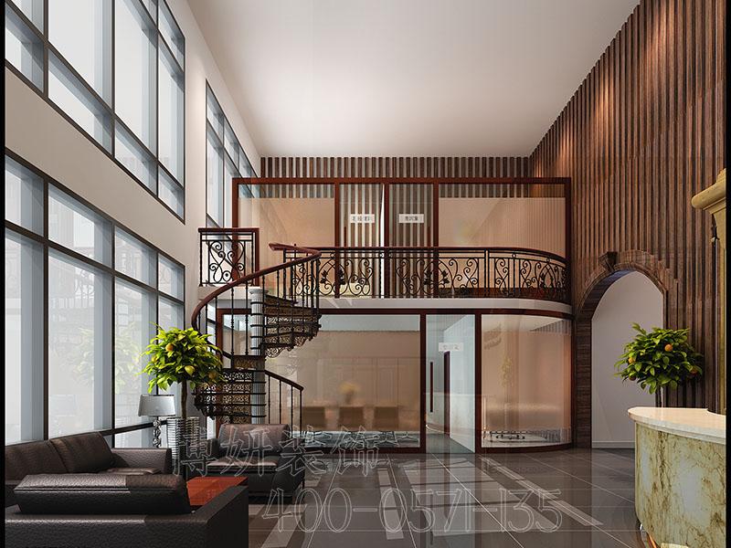 杭州整形医院装修设计案例-效果图