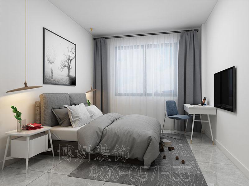 宁波现代简约公寓装修设计-案例效果图