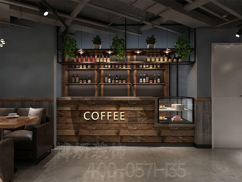 绍兴精品咖啡厅装修设计-案例效果图