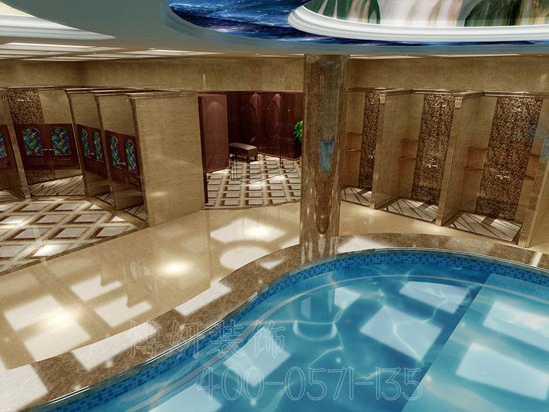 大型浴场排列三走势设计 - 排列三走势效果图