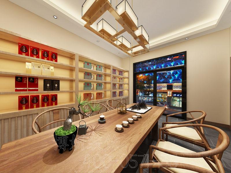 杭州茶室装修设计 - 装修效果图