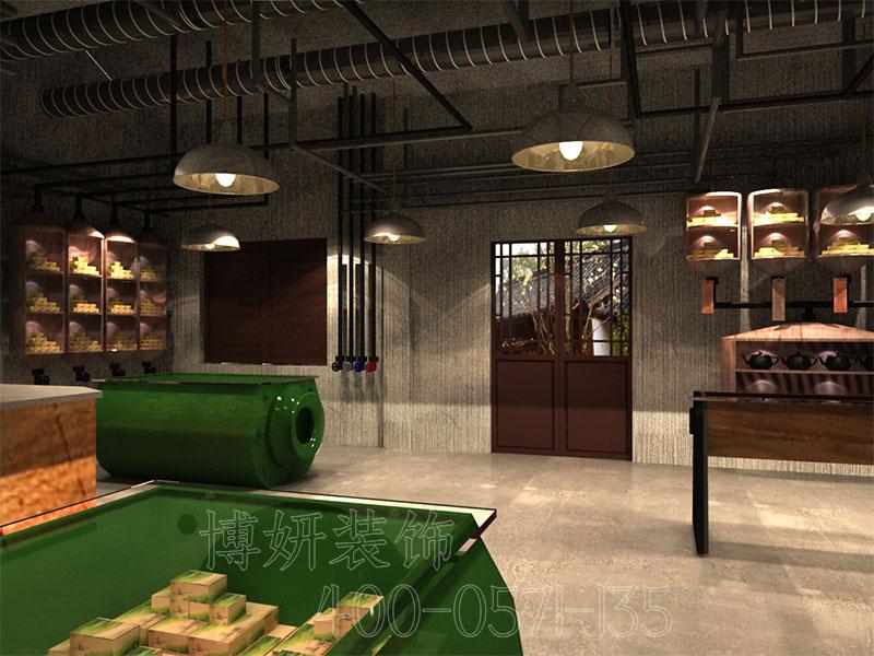 杭州茶博馆装修设计 - 装修效果图