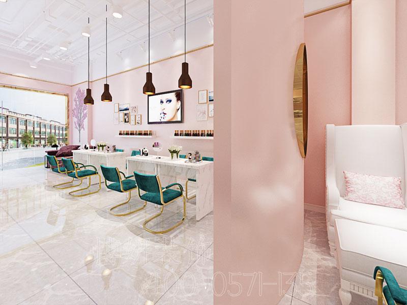 杭州美容店排列三走势案例-美容店设计效果图