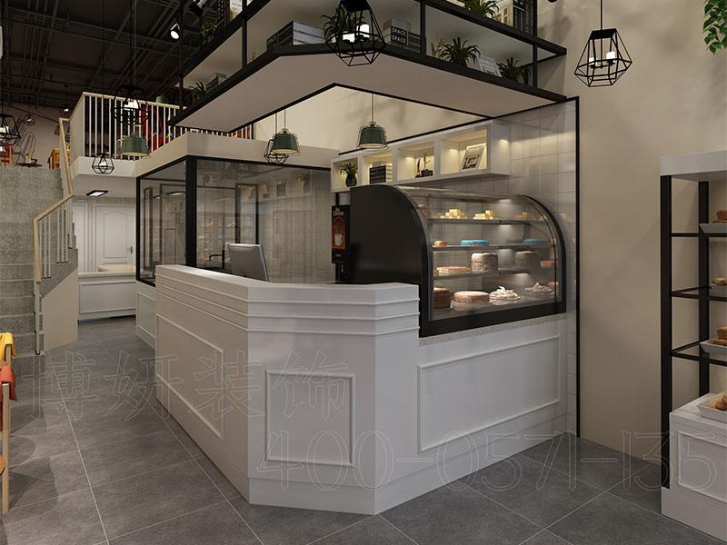 杭州法式烘焙店造型设计-案例效果图