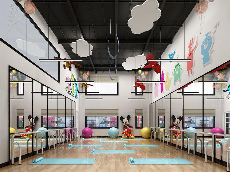 舞蹈室装修设计,舞蹈教室装修,杭州舞蹈教室装修