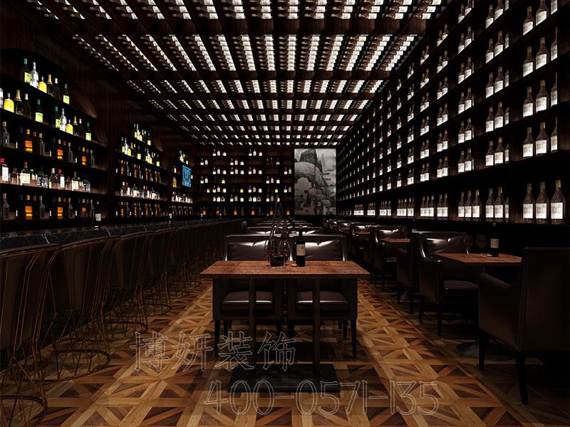 山东酒吧装修-杭州酒吧装修案例效果图