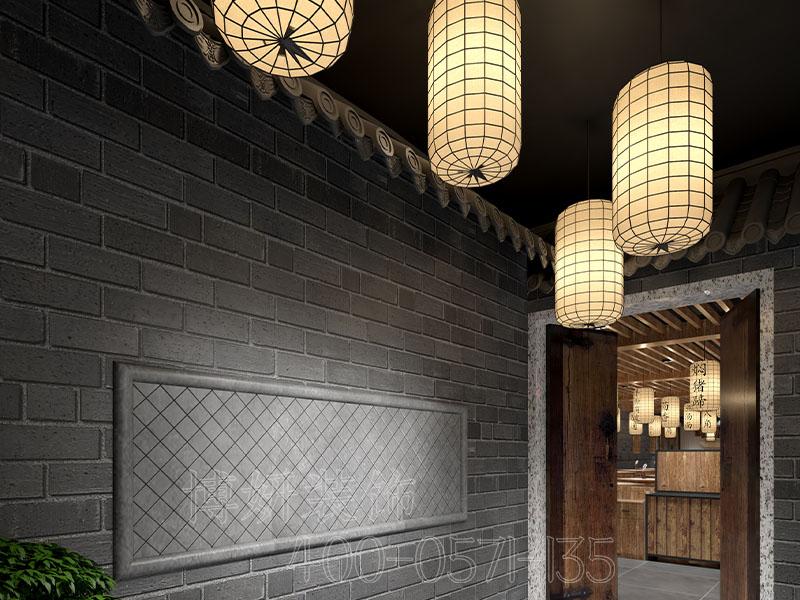 杭州食堂装修设计-案例效果图(二)