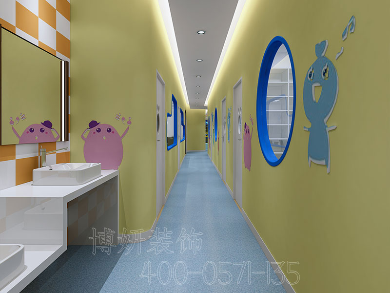 山东杭州正规办公室装修公司设计-案例效果图