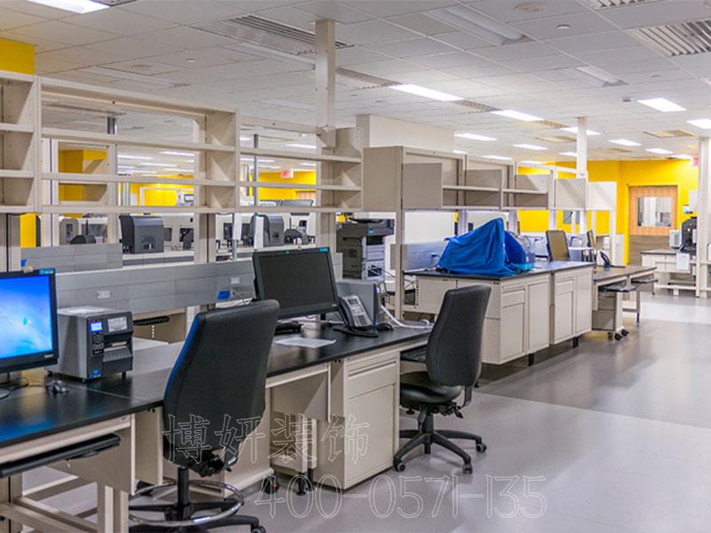 杭州仓储实验室装修设计-案例效果图