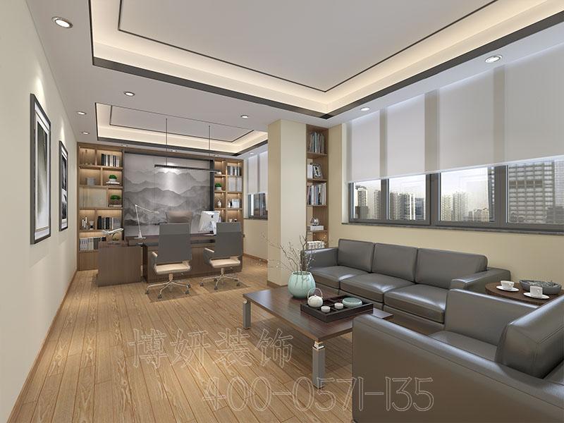 宁德杭州新媒体办公室装修风格-案例效果图
