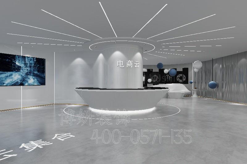 杭州湖州展厅装修设计-案例效果图