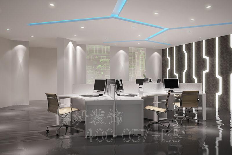 杭州萧山办公室装修设计-案例效果图