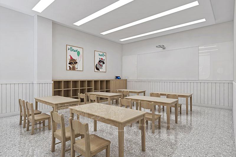 早教培训中心装修设计,教育装修,杭州教育装修