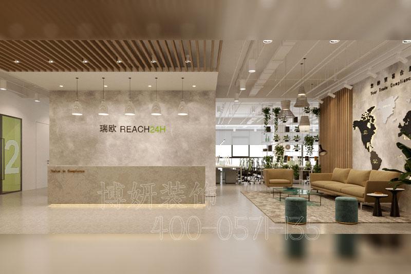 杭州科技办公室装修设计-案例效果图