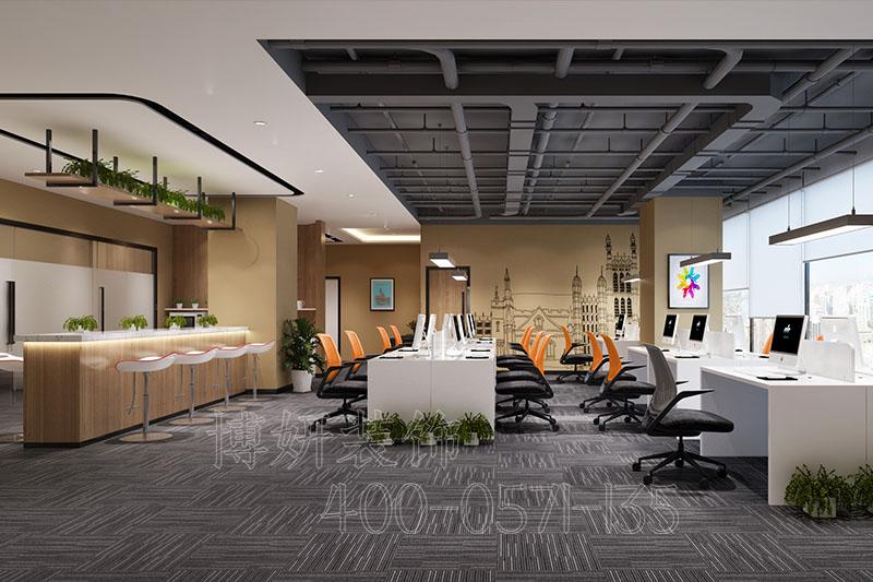杭州下沙办公室装修设计-案例效果图