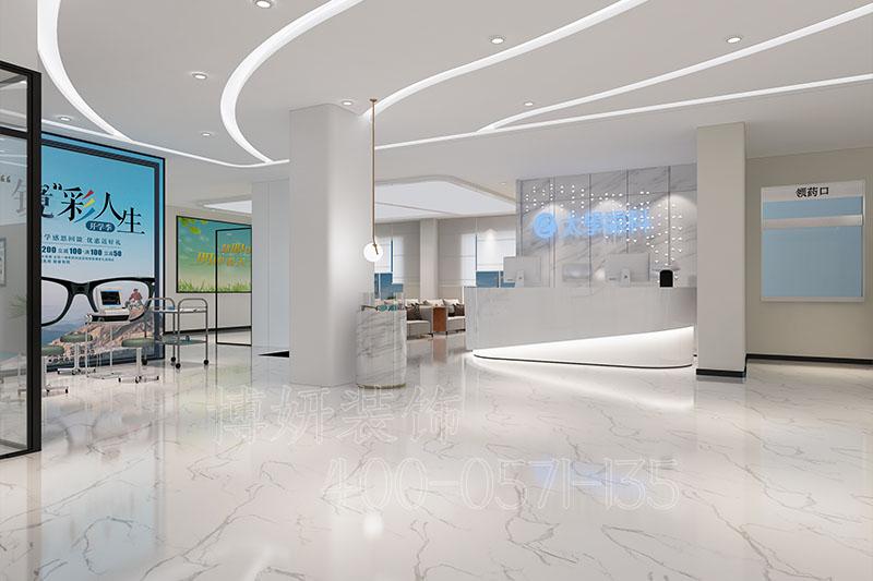 太学眼科医院装修设计案例 - 装修效果图