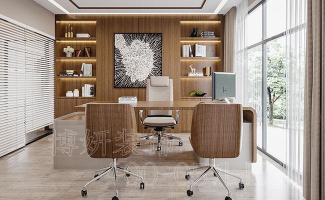 杭州经理办公室装修-杭州经理办公室装修是什么样的