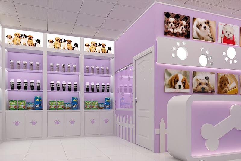 宠物店装修,杭州宠物店装修,宠物店装修设计