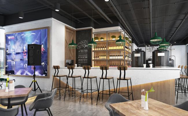 精酿啤酒屋装修设计,酒吧装修,杭州酒吧装修