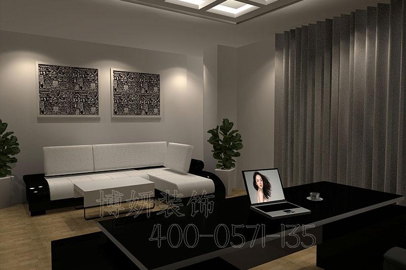 杭州服装办公室装修案例-设计效果图