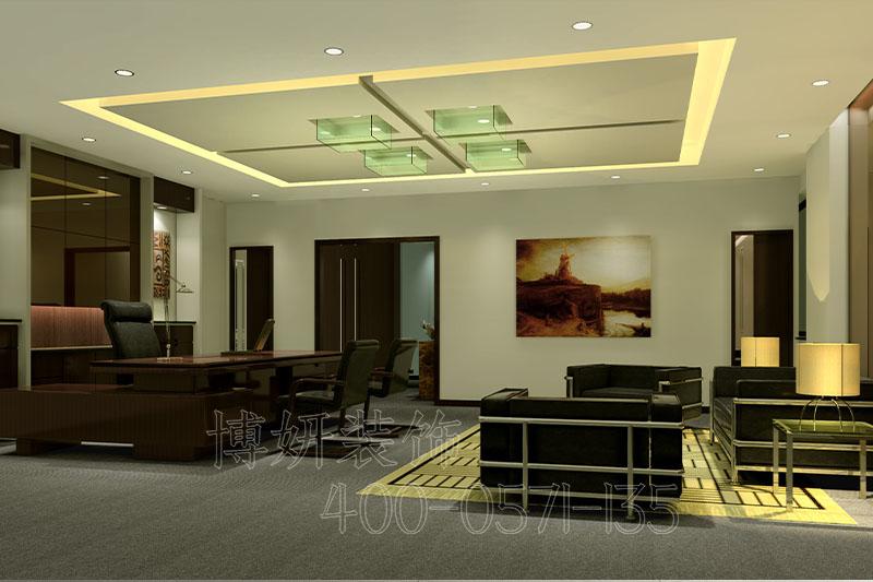 杭州科技公司办公室装修-案例效果图
