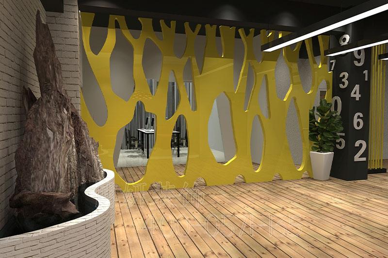 杭州服装办公室装修效果-设计案例图