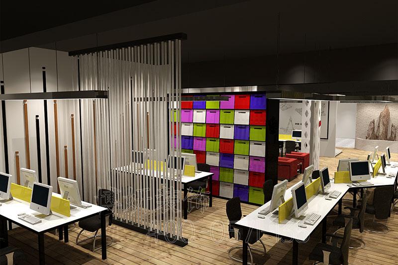 杭州服装办公室装修-案例效果图