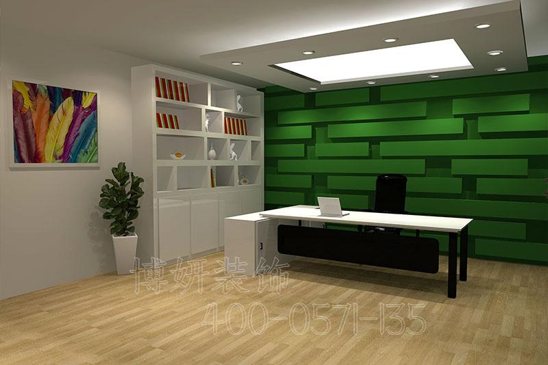 杭州服装办公室装修装饰-案例设计效果图