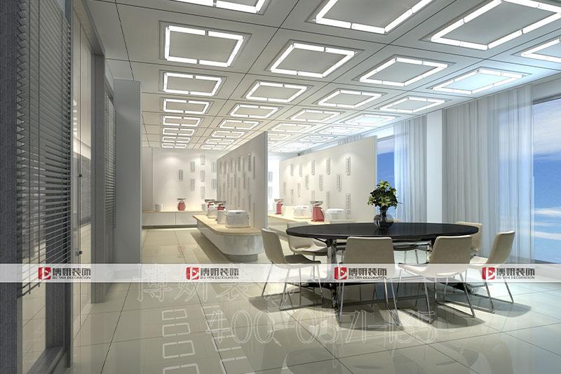 杭州轻奢办公室装修-轻奢办公室案例效果图