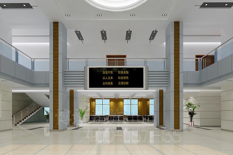 余杭区办公室装修案例设计效果图,办公室装修,杭州办公室装修