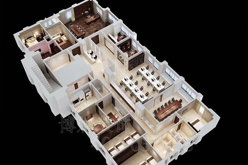 杭州科技办公室装修案例效果图,办公室装修,杭州办公室装修