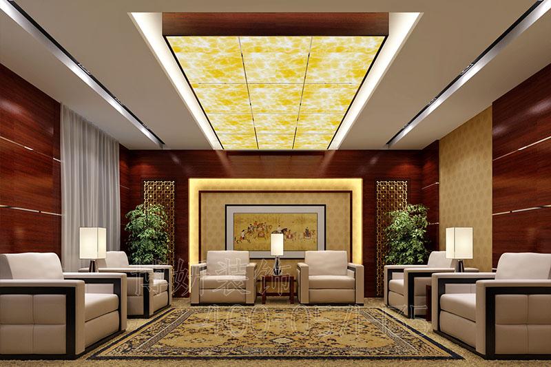 杭州轻奢办公室装修案例-设计效果图