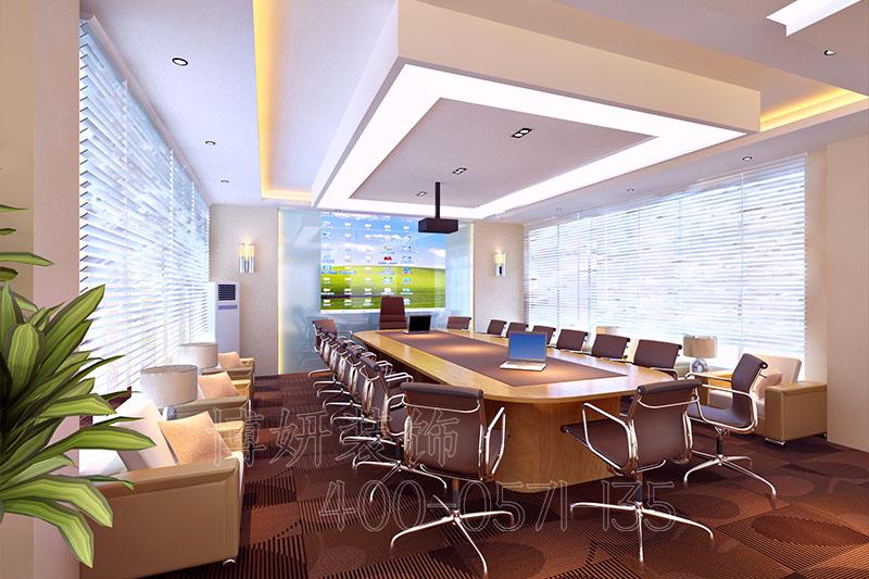 杭州简约办公室装修-案例设计效果图