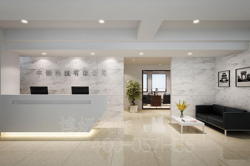 杭州科技办公室装修-案例效果图