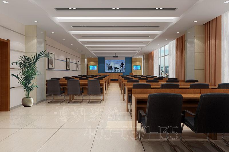 杭州余杭区办公室装修-案例设计效果图
