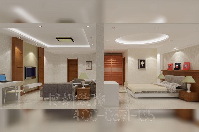 杭州简约办公室装修案例-设计效果图