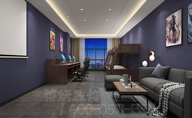 电竞酒店装修,杭州电竞酒店是怎么装修的,杭州酒店装修