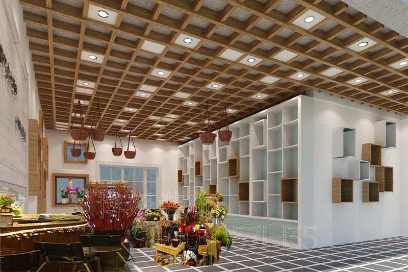 杭州鲜花店排列三走势-案例设计效果图