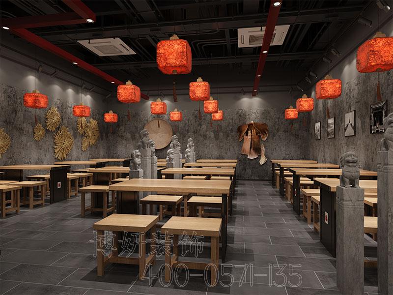 杭州专业中式餐饮店排列三走势与设计公司-中式餐饮店该如何排列三走势呢?
